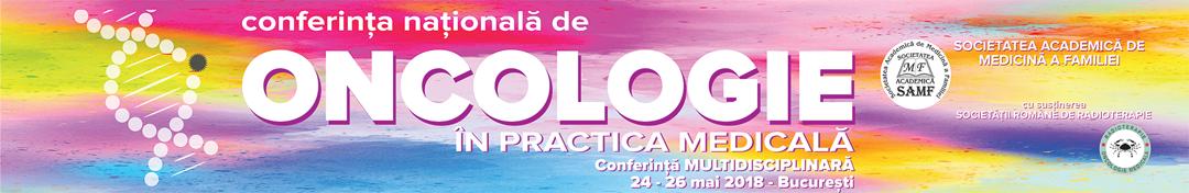 Conferinta Nationala de Oncologie in Practica Medicala Logo